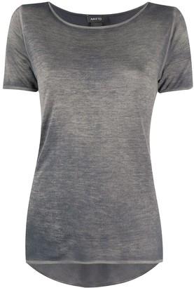 Avant Toi scoop neck T-shirt