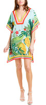 Trina Turk Theodora Silk Caftan Dress