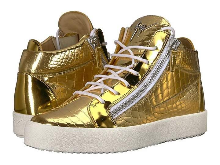 Giuseppe Zanotti May London Electra Mid Top Sneaker Men's Shoes