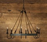 Pottery Barn Napa Wine Barrel Chandelier