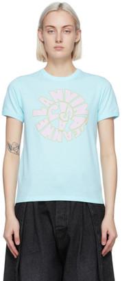 Lanvin Blue 70s Logo T-Shirt