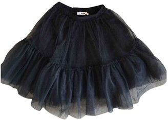 MSGM Black Synthetic Skirts