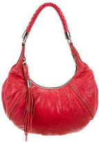 Miu Miu Distressed Leather Hobo