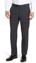 Incotex Men's Benson Flat Front Wool Trousers