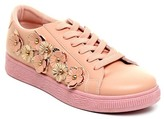 Refresh Action 3-D Flower Lace-Up Sneaker
