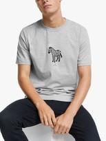 Paul Smith Short Sleeve Halo Zebra T-Shirt, Grey