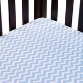Carter's Mix & Match Zigzag Fitted Crib Sheet in Blue