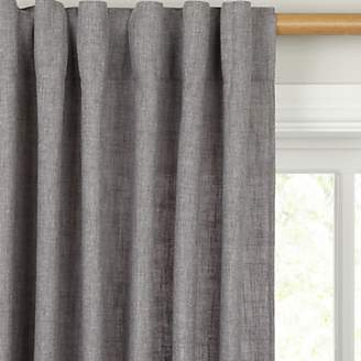 John Lewis & Partners Solo Hidden Tab Top Voile Panel