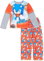 Komar Kids Orange Sonic Pajama Set - Boys