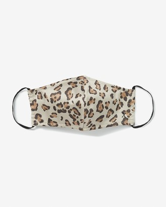 Express Olivia Culpo Together Leopard Print Face Covering