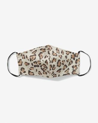 Express Olivia Culpo Together Leopard Print Face Mask