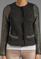 Dolan Tweed Sleeve Jacket