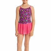 Jacques Moret Sleeveless Abstract Dance Dress - Preschool