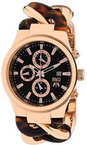 Jivago JV1230 Women's Lev Rose Gold & Tortoise Stainless Steel Watch