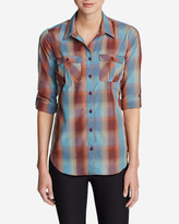 Eddie Bauer Women's Mountain Texture Long-Sleeve Shirt