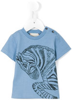 Gucci Kids - zebra print T-shirt - kids - Cotton - 3-6 mth