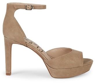 Sam Edelman Jerin Suede Platform Sandals