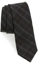 Ted Baker Men's Plaid Silk & Wool Skinny Tie