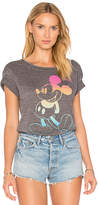 Junk Food Clothing Mickey Mouse Tee in Gray