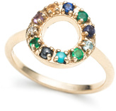 Lulu Frost *New* Code 10Kt 'Seize The Day' Ring