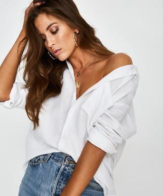 Subtitled Sands Shirt White