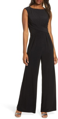 Harper Rose Bateau Neck Sleeveless Jumpsuit