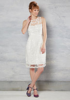 Bride and Precedence Lace Dress in White in 2