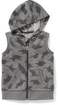 Old Navy Sleeveless Full-Zip Hoodie for Toddler Boys
