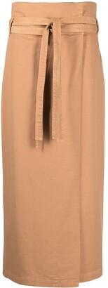 FEDERICA TOSI Straight Mid-Length Skirt