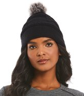 Smartwool Marquette Beanie with Faux-Fur Pom