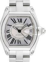 Cartier Vintage Roadster Stainless Steel Watch, 43mm
