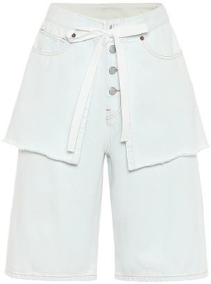MM6 MAISON MARGIELA High-rise denim shorts
