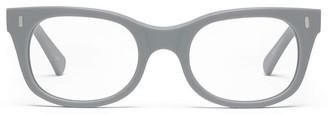 Caddis Bixby Glasses in Matte Putty Grey