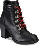 Esprit Halona Combat Booties Women's Shoes