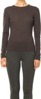 Max Studio Fine Wool Jersey Long Sleeved Top