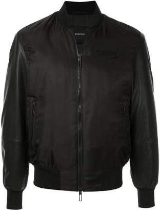 Emporio Armani short leather jacket
