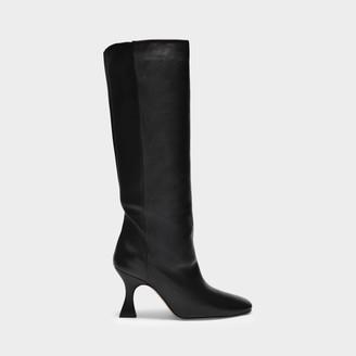Miista Boots Inga In Black Smooth Leather