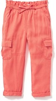Old Navy Soft Military-Style Cargos for Toddler Girls