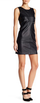 Tart Elyse Faux Leather Sheath Dress