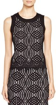 Calvin Klein Lace Top - Bloomingdale's Exclusive