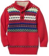 Gap Fair isle mockneck sweater