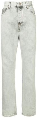 Martine Rose Stonewashed Straight Leg Jeans