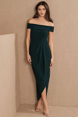 Anthropologie Thompson Dress By in Green Size 0