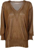 Y's Yohji Yamamoto Glittered Sweater