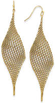 INC International Concepts I.n.c. Mesh Drop Earrings, Created for Macy's