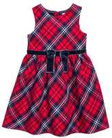 H&M Dress with Bow - Red/plaid - Kids