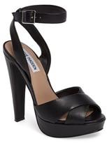 Steve Madden Women's Andrea Cross Strap Platform Sandal