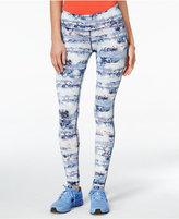 Material Girl Active Juniors' Printed Leggings, Only at Macy's