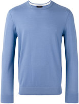 Joseph Contrast elbow patch jumper - men - Merino - M