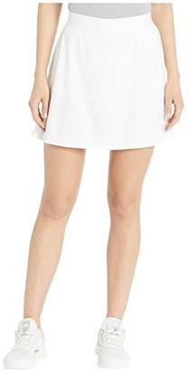 adidas Club Long Skirt (Black/Matte Silver/Black) Women's Skirt
